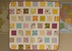 from the blue chair: Central Park Baby Quilt by Kati Spencer