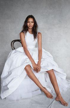 Lais Ribeiro by Patrick Demarchelier for Vogue UK November 2014