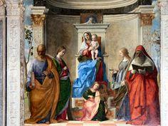 TICMUSart: Sacred conversation - Giovanni Bellini (I.M.)