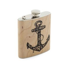 Spirited Cheers Flask ($30) found on Polyvore from MODCLOTH.COM