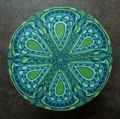 'Sea Urchin' by Sal's Studio, selling jewellery on Facebook and in Hobart, Tasmania, Australia