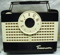 Well, this one isn't a transistor radio but close enough! It does play well but uses batteries I can't get.