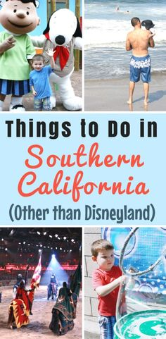Of course you can't miss Disneyland when visiting SoCal but there are so many other great things to do in Orange County with kids! These are the top 10 can't-miss things to see and do in Southern California (other than Disneyland!) #VisitBuenaPark #Snoopy #ad