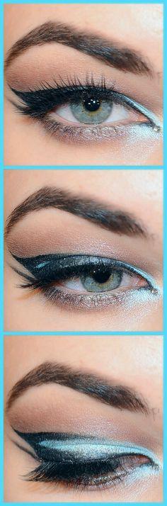 exotic arabian inspired makeup #makeup #makeupoftheday #motd #eyeoftheday #eotd #eyeshadow #pigment #glitter #smokeyeye #mascara #brows