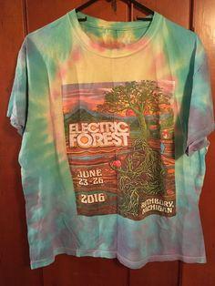 Electric Forrest 2016 Rothbury Michigan T Shirt L #TShirt