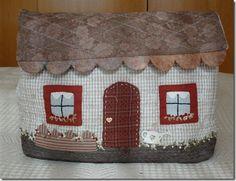 casitas patchwork - Buscar con Google