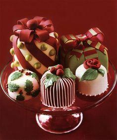 gorgeous christmas cakes | Peggy Porshen Xmas Cake Let Them Eat Cake Wedding inspiration wedding ...