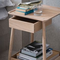 Harlosh Bedside Table
