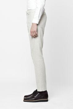 COS Slim wool trousers