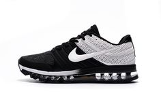 Buy New Nike Air Max Black White Train Running Shoes - Release Top Deals from Reliable New Nike Air Max Black White Train Running Shoes - Release Top Deals suppliers.Find Quality New Nike Air Max Black White Train Running Shoes - Release Top Deals and pre Sneakers N Stuff, Sneakers For Sale, Air Max Sneakers, Sneakers Nike, Discount Sneakers, White Sneakers, Leather Sneakers, Nike Air Max Black, Cheap Nike Air Max