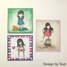 Gorjuss Journaling Cards http://www.designbysuzi.blogspot.sk/2015/03/gorjuss-diy-journaling-cards.html