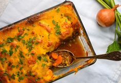 13+1 édesburgonyás recept az egészséges menüdbe Lasagna, Sweet Potato, Curry, Food Porn, Food And Drink, Potatoes, Chicken, Dinner, Cooking