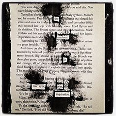 The Madness: Make Black Out Poetry, Black Out Poetry, Poetry
