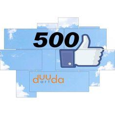 500 likes on Facebook! Follow us!