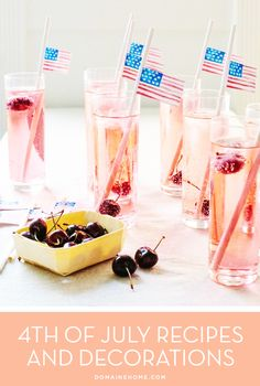 4th of July Recipes and Decorations
