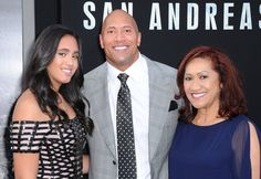 Pin for Later: 23 Pictures of Dwayne Johnson and His Beautiful, Blended Family