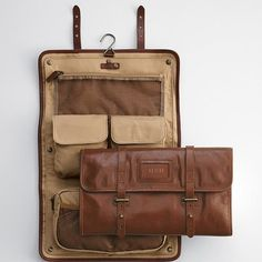 I travel a lot and this is the best toilet kit i have ever had.... leather excursion travel case