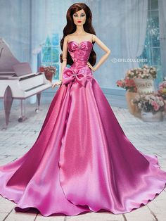The World's Best Photos of agnes and ooak Barbie Wedding Dress, Barbie Gowns, Barbie Dress, Barbie Clothes, Fashion Royalty Dolls, Fashion Dolls, Steampunk Fashion, Gothic Fashion, Ankara Fashion