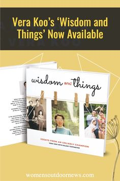 Vera Koo has written another book, filled with inspiration and advice. Based on her most interesting life.
