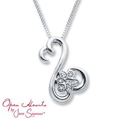 2f041fd63 From the collection of Open Hearts Family by Jane Seymour™, this  heartwarming necklace includes