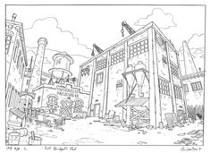 What is Animation Background Layout? — Steve Lowtwait Art - Artwork by Steve…
