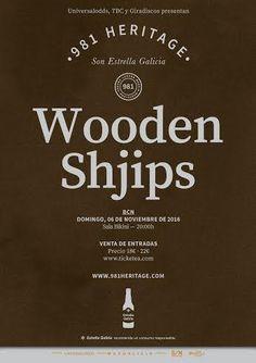 Concierto de Wooden Shjips en Barcelona