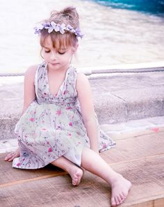 Nellystella Jaslyn Lily Floral // poppyscloset.com #dress #flower #girls