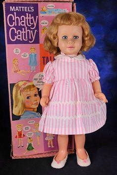 Vintage talking Chatty Cathy doll
