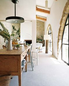 barn style home renovated from a mill