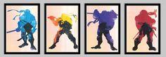 Geeky & Proud Teenage Mutant Ninja Turtles Print :: Teenage Mutant Ninja Turtles, the worlds most fearsome fighting team. This print includes Leonardo, Donatello, Raphael, and Michaelangelo.