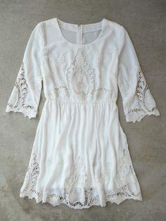 Elegant Embroidery Dress [5130] - $42.00 : Vintage Inspired Clothing & Affordable Dresses, deloom | Modern. Vintage. Crafted.