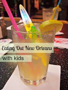 Eating out in New Orleans with kids