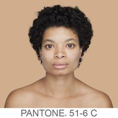 this photographer is using the pantone system to change how we think about race