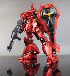 GMG 1/100 MSN-04 Sazabi Formania Version Resin Cast Kit: Assembled, Painted Photo Review