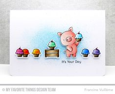 Card by Francine (www.1001cartes.ch) karte, carte, carterie, cardmaking, cardmaker, crafts, papercrafts, handmade, diy, stamping, #1001cartes, mftstamps, #mftstamps, die-namics, hog heaven, birdie brown