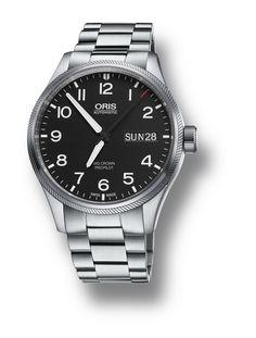 Reloj Cro Oris Big Crown Day Date Army 75276984164