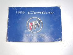 1999 Buick Century Owners Manual Book