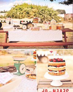 county fair style birthday on the farm {stevie pattyn for shop sweet lulu}