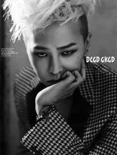 Gdragon for W magazine January 2014 issue
