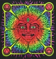 PSYCHEDELIC ART Clubbing Wear DJ T-shirts PsyWear and PsyArt - CLUB-T-SHIRTS.COM