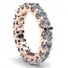 Diamantring Memory 4.00 Karat aus 585er Rosegold  #diamantring #memory #rosegold #juwelier #abt #dortmund #diamantschmuck