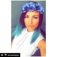 """Don't panic it's manic panic.  Special thanks to Anna Keep doing your thing and dare to be different like you always do.  #Repost @annasteppp  """"Sometimes when I close my eyes ... I can't see"""" #quoteoftheday  Thank you @a4bgr for my hair"""