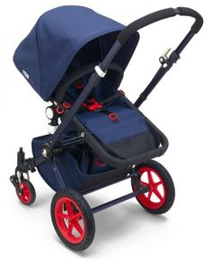 Bugaboo Cameleon3 Stroller Special Edition Neon Collection (Blue/Red) | The idyllic Bugaboo Cameleon3 Stroller Special Edition is now even better than ever with the third generation model that's more versatile, stylish and functional! The all-in-one, multi-terrain Bugaboo Cameleon3 Stroller Special Edition is light, compact, easy to lift and store, and seamlessly adapts to your journey.