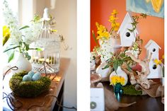 Feather her Nest Baby Shower ideas.