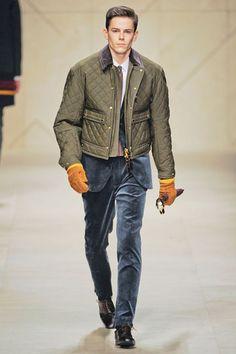 Burberry Prorsum Menswear:Fall 2012
