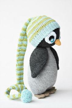 Tutt-mütsiga pingviin | lilleliis