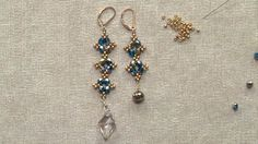In this DIY lesson, you'll make your own unique beaded dangle earrings by following along with Jill Wiseman's instructions. Grab your favorite beads and begin!