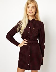 Combine new look Gingham with on trend shirt dress.