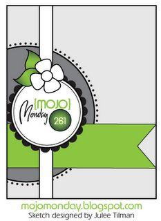 Mojo261Sketch - to use the Hoop La La stamp set