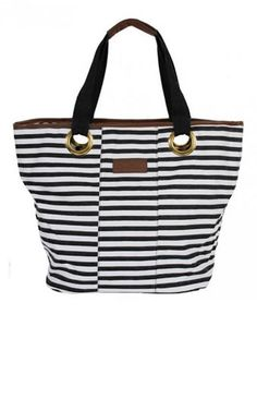 Canvas tote beach bag